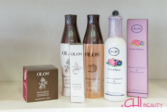 Olos products at Chi