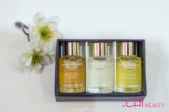 Aromatherapy Associates products at Chi