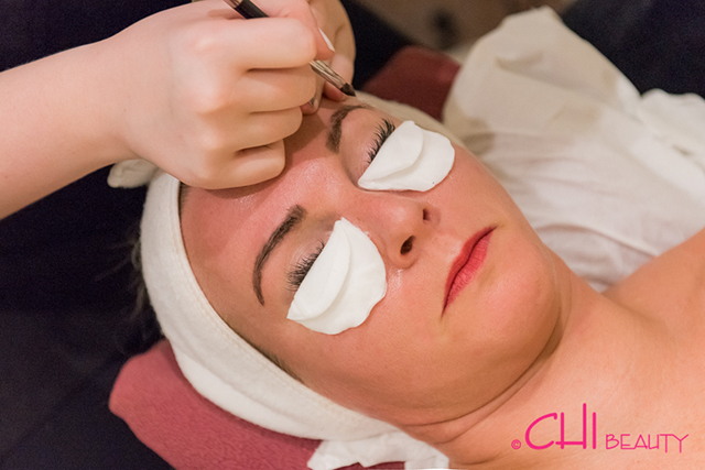 Chi brow treatment