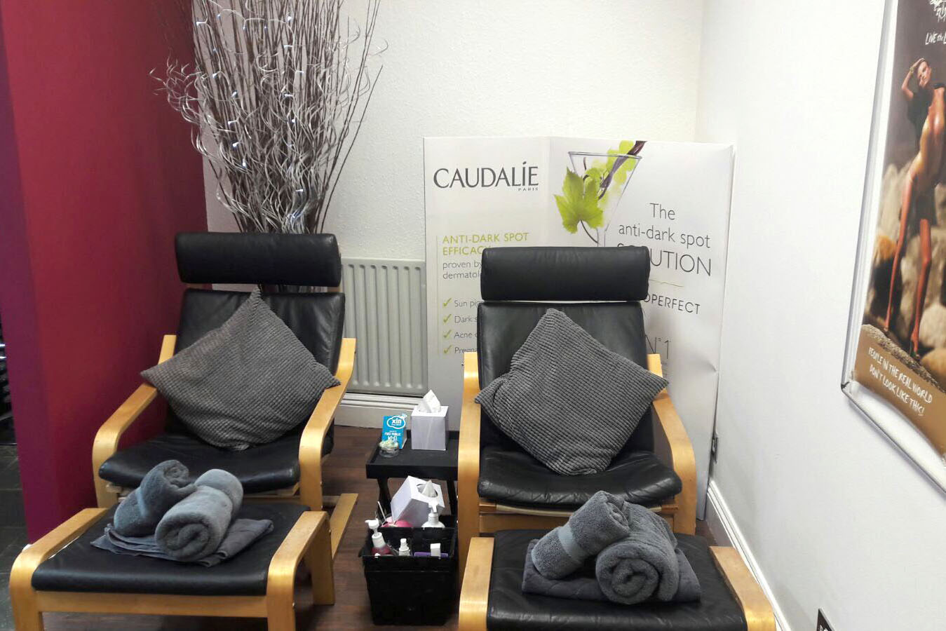 Chi pedicure area