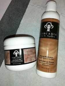 Chocolate enzyme mask